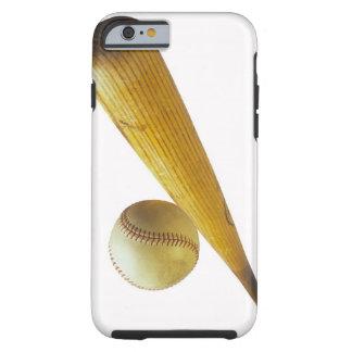 Baseball bat and ball tough iPhone 6 case