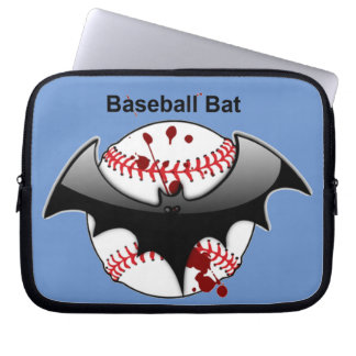 Baseball Bat Flying Bat Laptop Sleeve