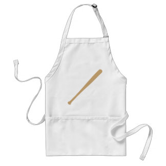 baseball bat icon adult apron
