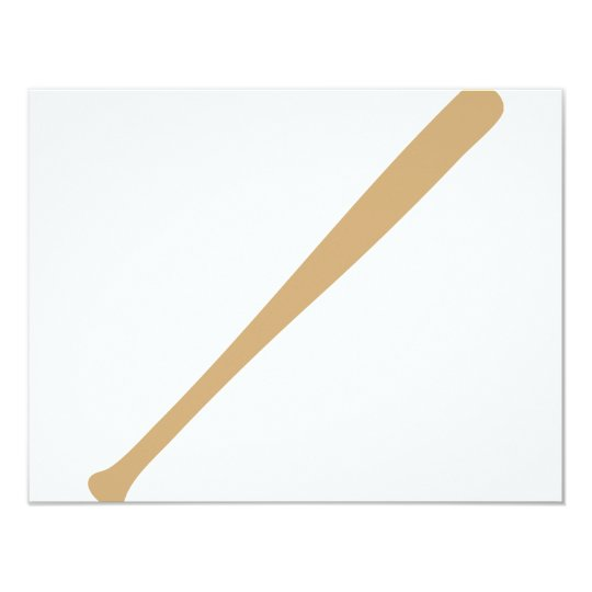 baseball bat icon card