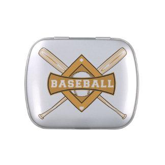 Baseball Bats and Ball Candy Tins