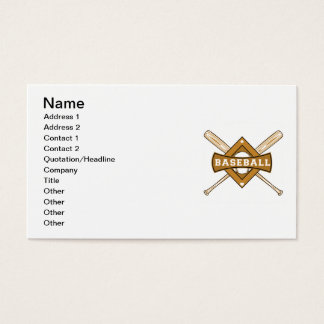 Baseball Bats and Ball T-shirts and Gifts Business Card