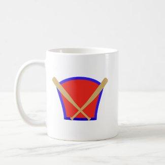 Baseball Bats Logo mug