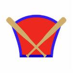 Baseball Bats Logo Photo Sculpture