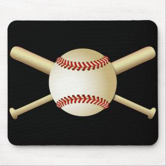BASEBALL & BATS MOUSE PAD