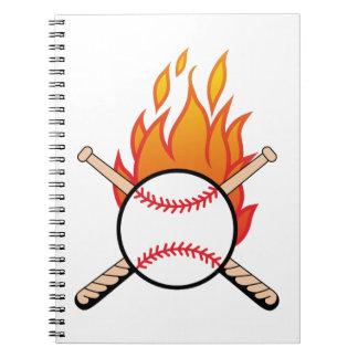 Baseball & Bats Notebook