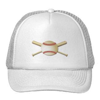 BASEBALL & BATS TRUCKER HAT