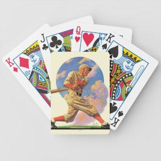 Baseball Batter Bicycle Playing Cards