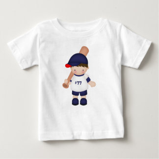 Baseball Batter Boy Sports Athletics Games Baby T-Shirt