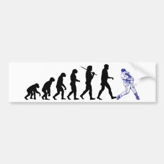 Baseball Batter Bumper Sticker