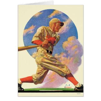 Baseball Batter Greeting Cards