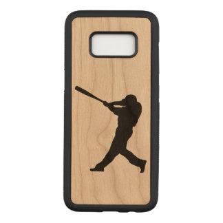 Baseball Batter Carved Samsung Galaxy S8 Case