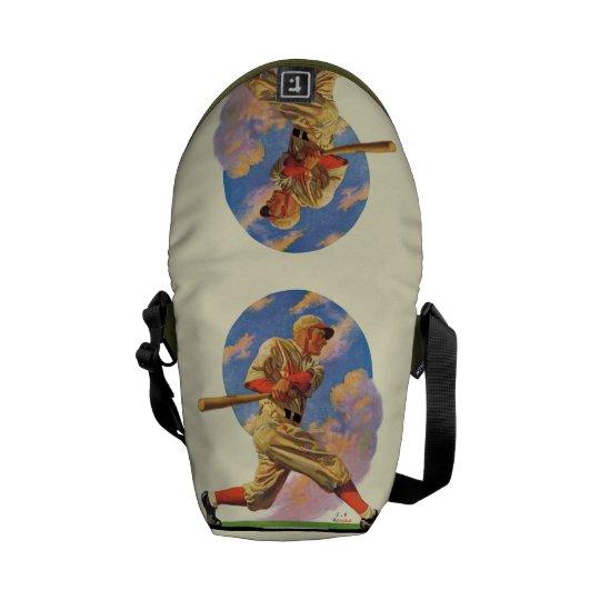 Baseball Batter Courier Bag