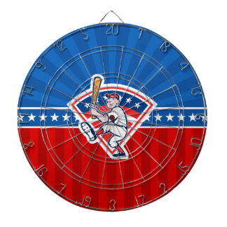 Baseball Batter Dartboard With Darts