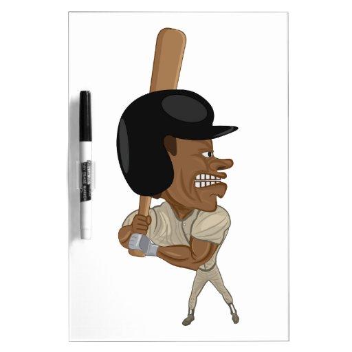 baseball batter dry erase whiteboards