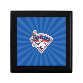 Baseball Batter Keepsake Box