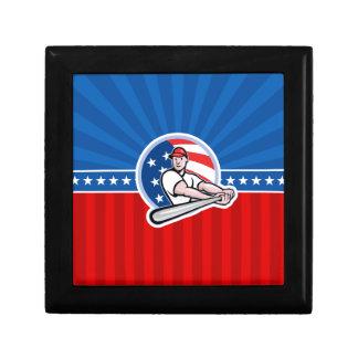 Baseball Batter Jewelry Boxes