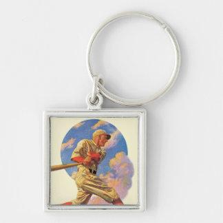 Baseball Batter Key Chain