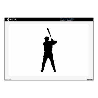 Baseball Batter Laptop Decal
