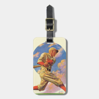 Baseball Batter Luggage Tags