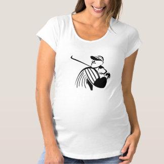 Baseball Batter Maternity T-Shirt