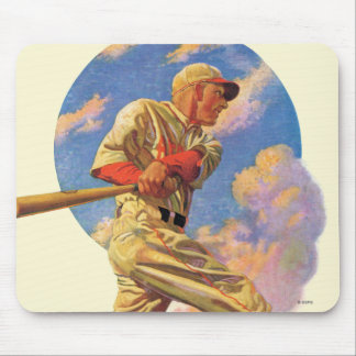 Baseball Batter Mouse Pad