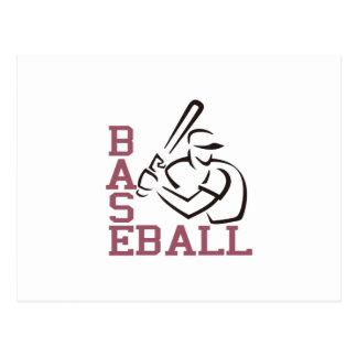Baseball Batter Postcard