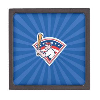 Baseball Batter Premium Keepsake Box