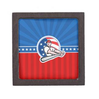 Baseball Batter Premium Jewelry Box