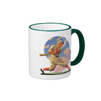 Baseball Batter Ringer Coffee Mug