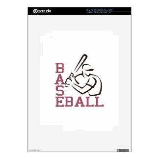 Baseball Batter Decal For iPad 2