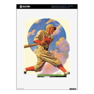 Baseball Batter Skin For iPad 3