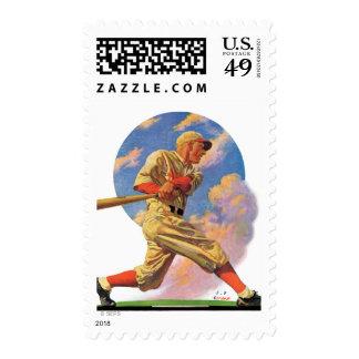 Baseball Batter Stamp