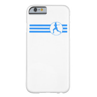 Baseball Batter Stripes (Blue) Barely There iPhone 6 Case