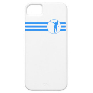 Baseball Batter Stripes (Blue) iPhone 5 Cover