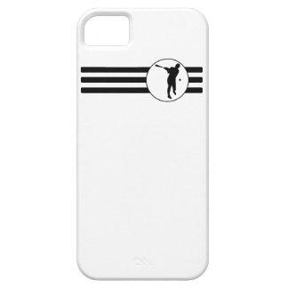 Baseball Batter Stripes iPhone 5 Cases