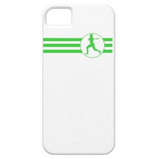 Baseball Batter Stripes (Green) iPhone 5 Case