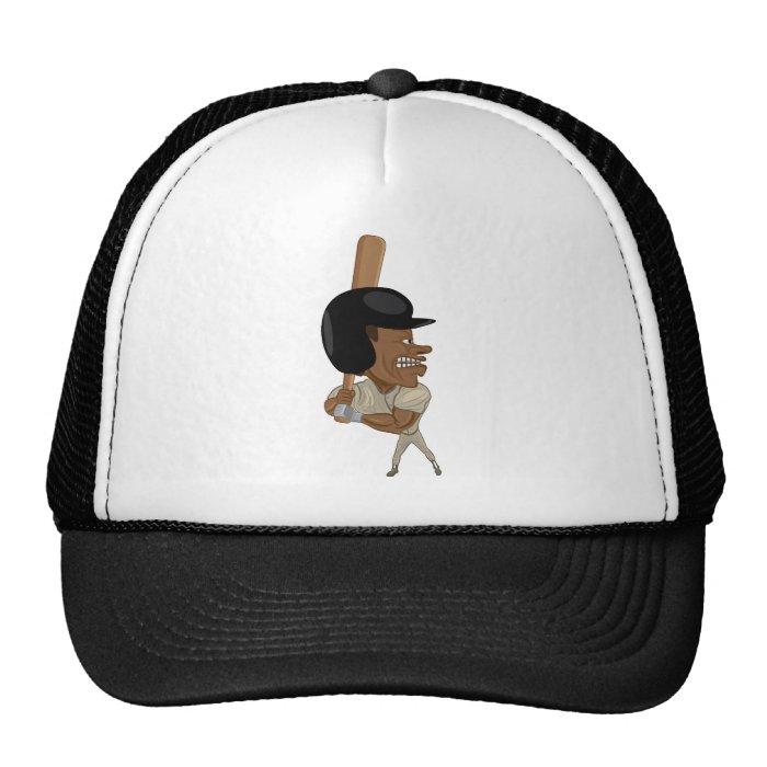 baseball batter trucker hat