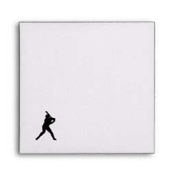 Baseball Batter Up Envelope