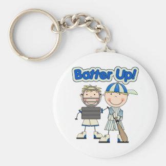 Baseball Batter Up Keychain