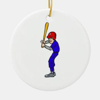Baseball Batter Up Christmas Ornaments