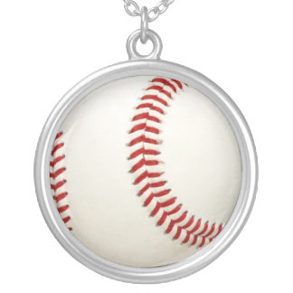 Baseball bball fan chain necklace pendant