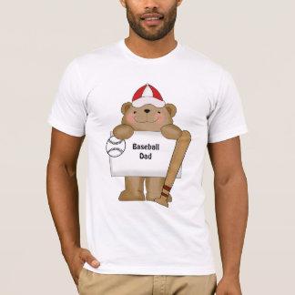 Baseball Bear Bulletin (customizable) T-Shirt