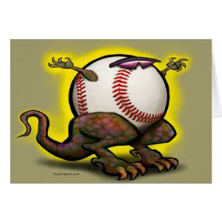 Baseball Beast Greeting Card