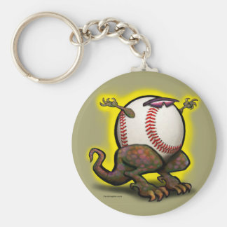 Baseball Beast Keychain