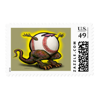 Baseball Beast Postage Stamps