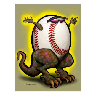 Baseball Beast Postcard