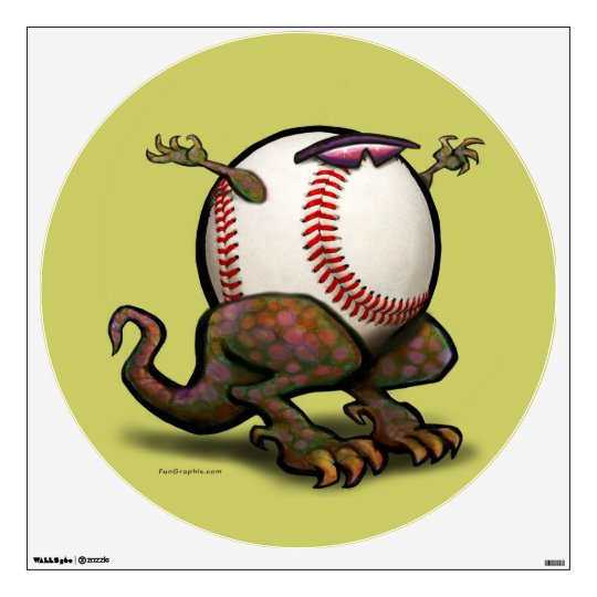 Baseball Beasty Wall Sticker