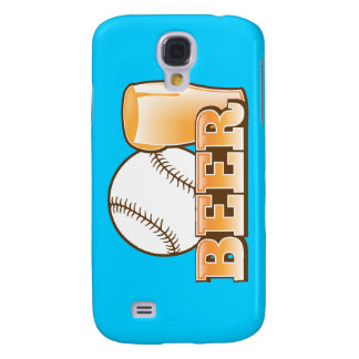 BASEBALL & BEER design by The Beer Shop Samsung Galaxy S4 Case