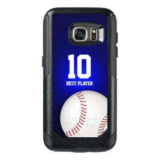 Baseball Best Player No | Sport Cool Gifts OtterBox Samsung Galaxy S7 Case